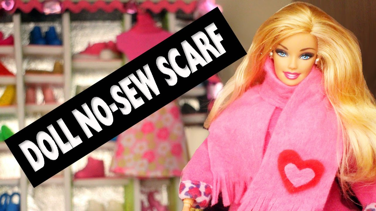 How to make a no-sew doll scarf - Easy Doll Crafts