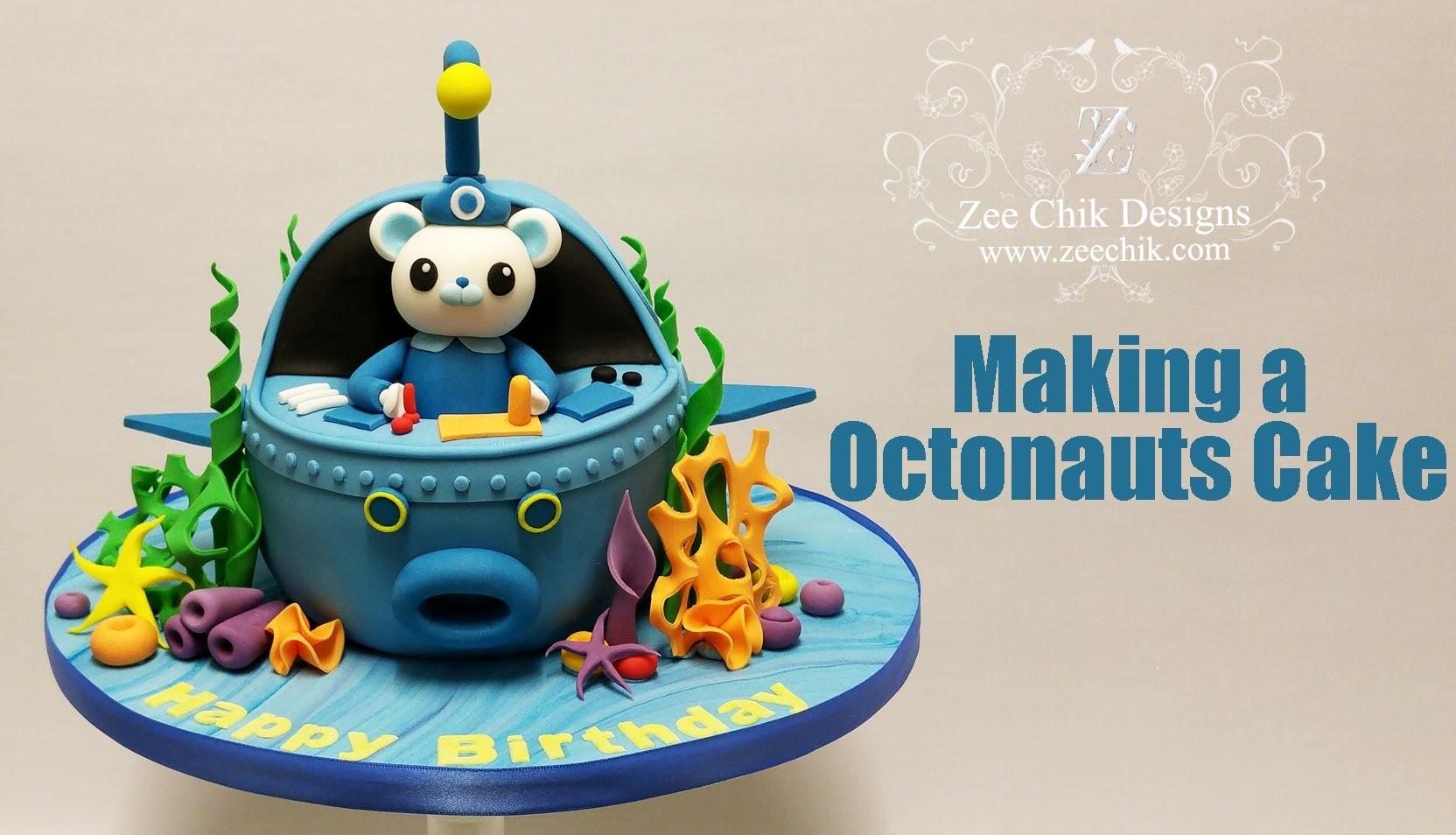 How to make a Octonauts Cake