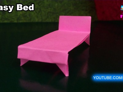 How to Make a Paper Bed Easy Tutorials