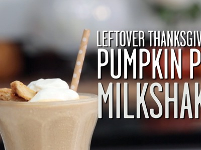 How To Make a Pumpkin Pie Milkshake | Southern Living