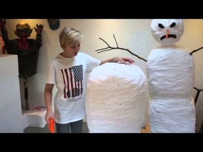 How To Make A Rising Snowman