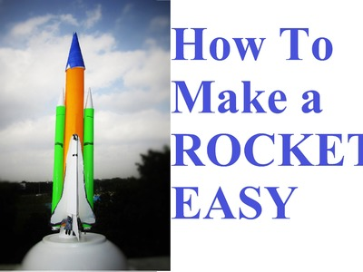 How to make a rocket - how to make a paper rocket at home