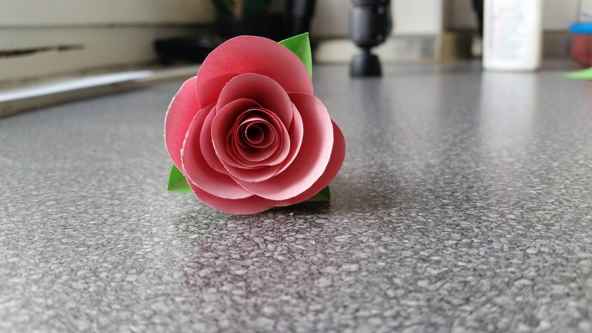 How to make a Rose Flower (Type 3)