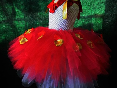 How to Make A Sweet Embellished Tutu Tutorial