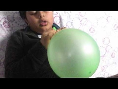 How to make a tablet cover out of a balloon