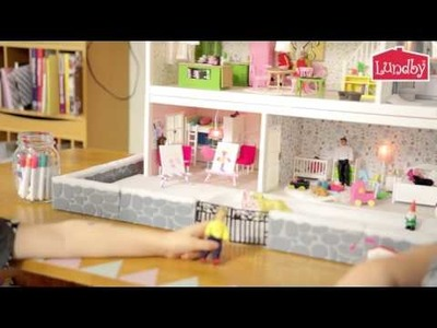 How to make an artist's easel to the dollhouse