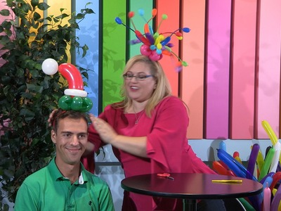 How To Make An Elf Fascinator Balloon Hat