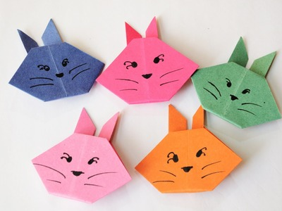 How to make an Origami Bunny | Easy | Tutorial