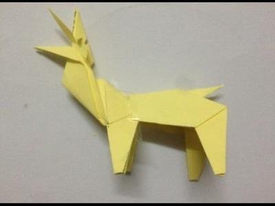 Origami Corner Bookmark Crane