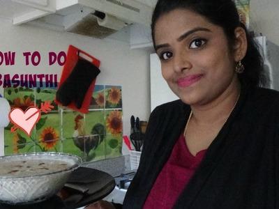 How to make Basundi(Gujarati sweet)