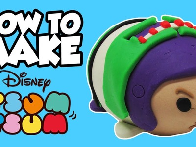 How-To Make Disney TSUM TSUM BUZZ LIGHTYEAR Play-Doh Surprise Egg with Jessie!!