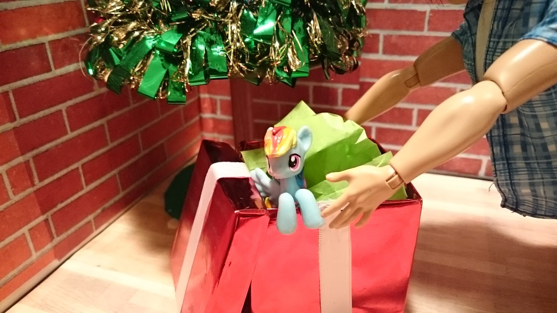 How to make doll Christmas presents. gifts