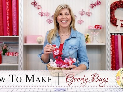How to Make Goody Bags | with Jennifer Bosworth of Shabby Fabrics