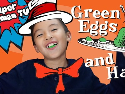 How to make Green Eggs and Ham!
