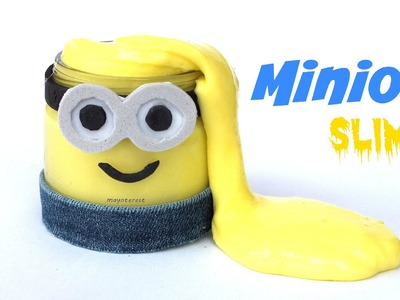 How to make MINION SLIME (borax free)
