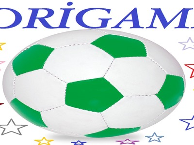 How to Make Origami Soccer Ball - Origami Futbol Topu
