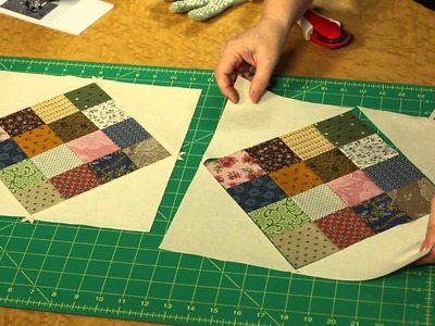 How to Make Quilting Quickly's Checkerboard Shuffle Quilt Block