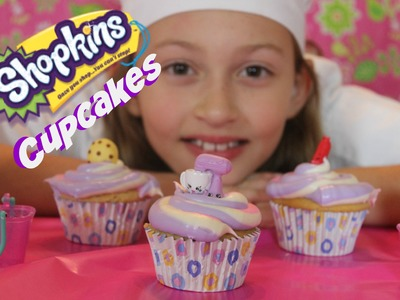 How To Make Shopkins Cupcakes | Chef Bella