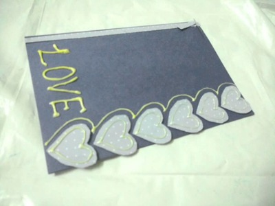 How To Make Simple Valentine's Day Love Card