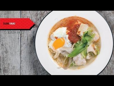 How to make Thai food at home - Suki Yaki