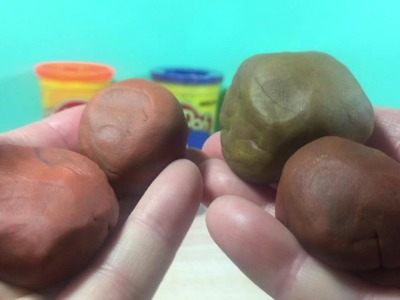 How to make the color Brown with Play-Doh