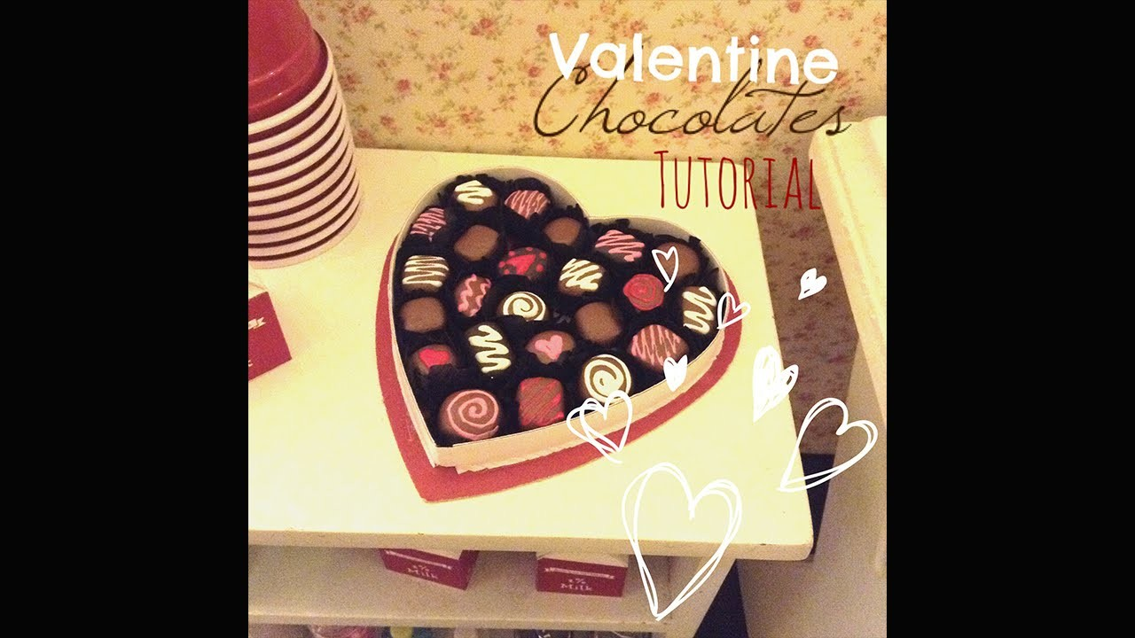 How To Make Valentine Chocolates For Dolls