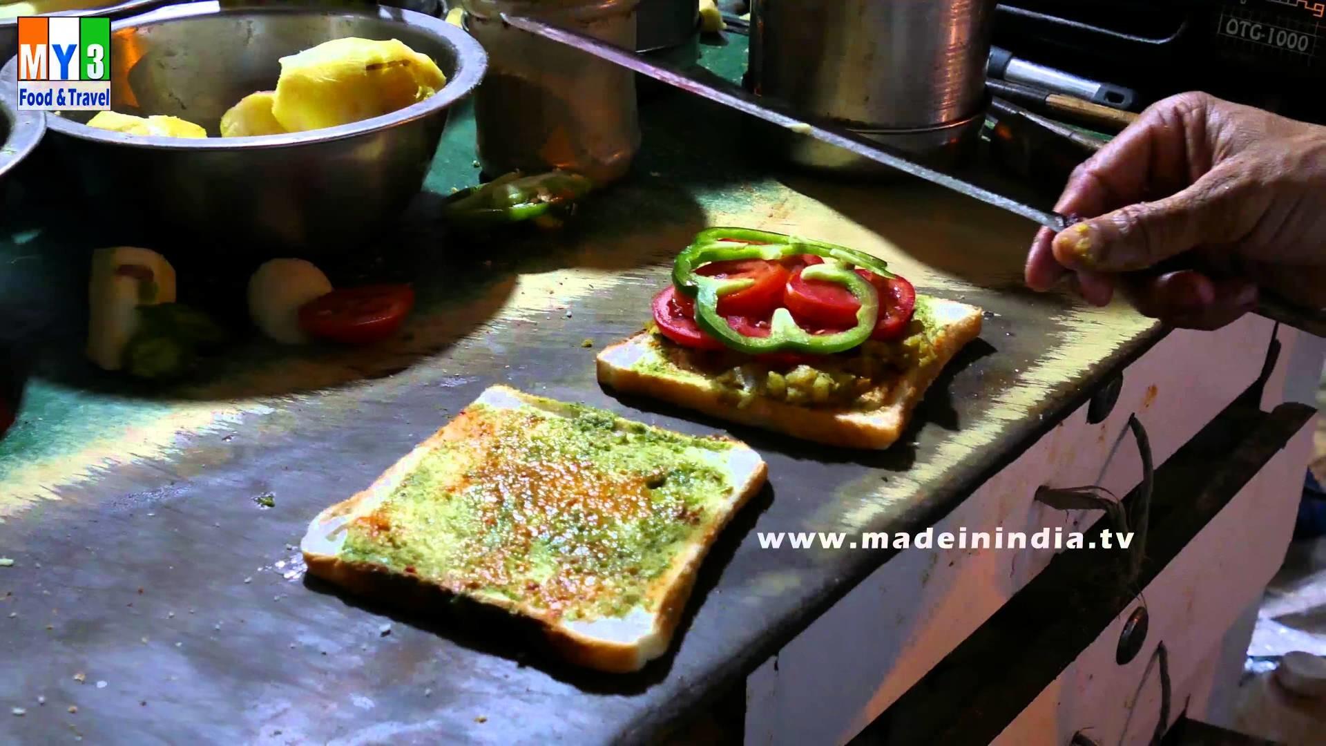 HOW TO MAKE Veg Sandwich | MUMBAI STREET FOOD | 4K VIDEO