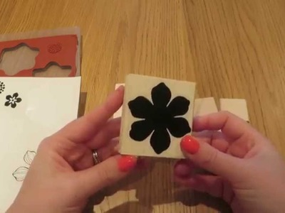 How to mount Stampin' Up Stamps