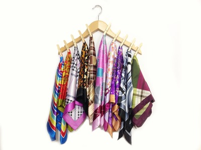 How to Organize your Scarves EASY & CHEAP!