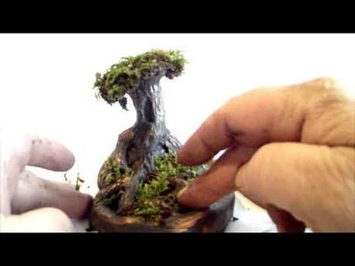How To Sculpt A Bonsai Tree In Polymer Clay