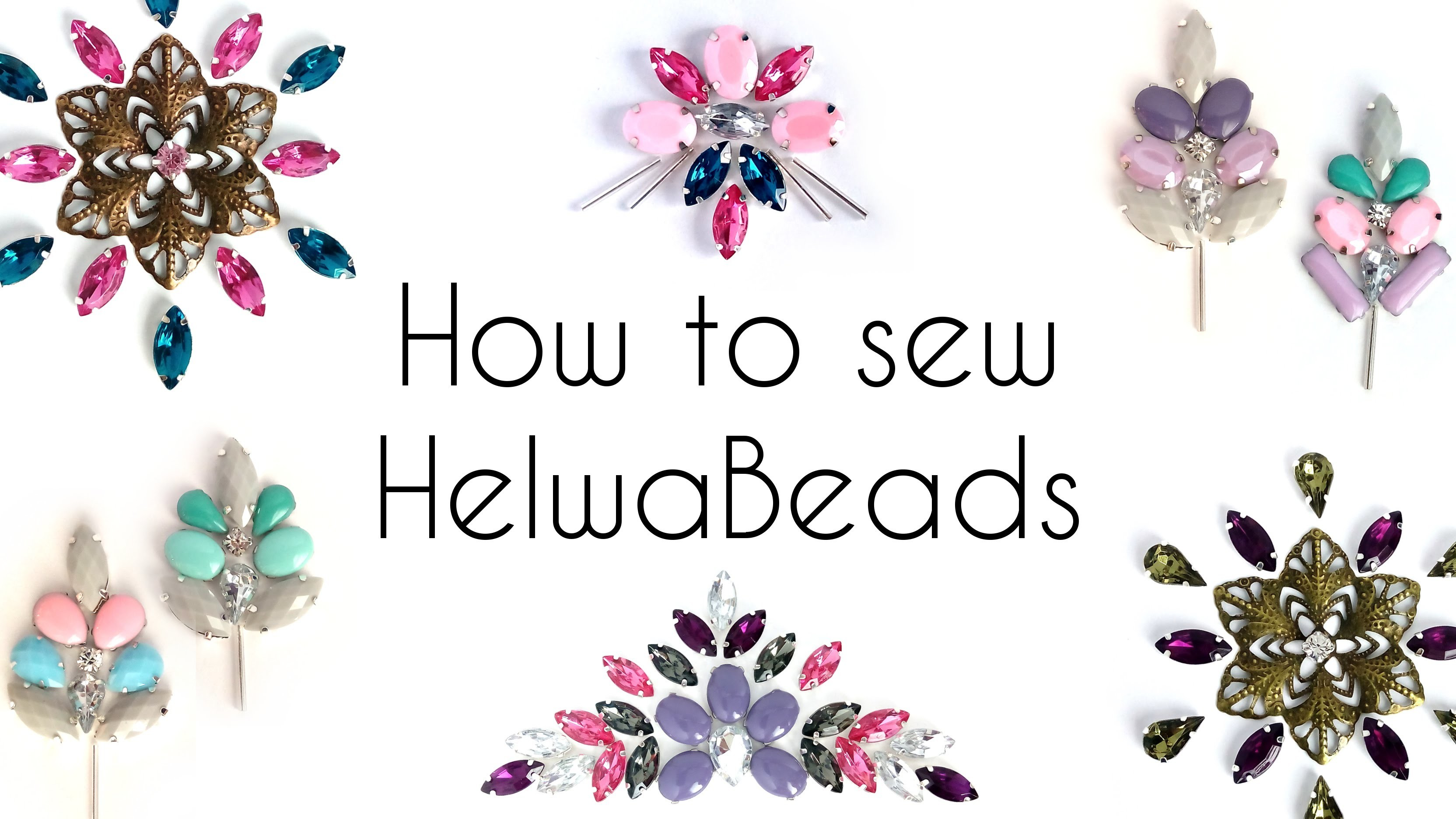 How To Sew HelwaBeads
