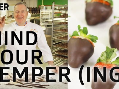 How to Temper Chocolate With Master Jacques Torres