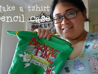 Make a Tshirt into a pencil case [How to] Ep3