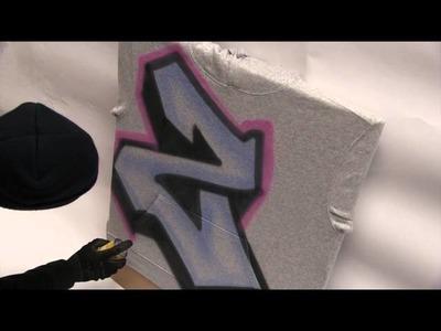 Marabu Textile Spray Paint Tutorial- How to Customise Your Clothing!