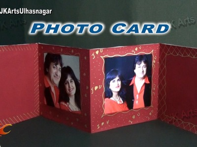 Photo Card Tutorial for Valentine's day, Wedding Anniversary | How to make | JK Arts 880