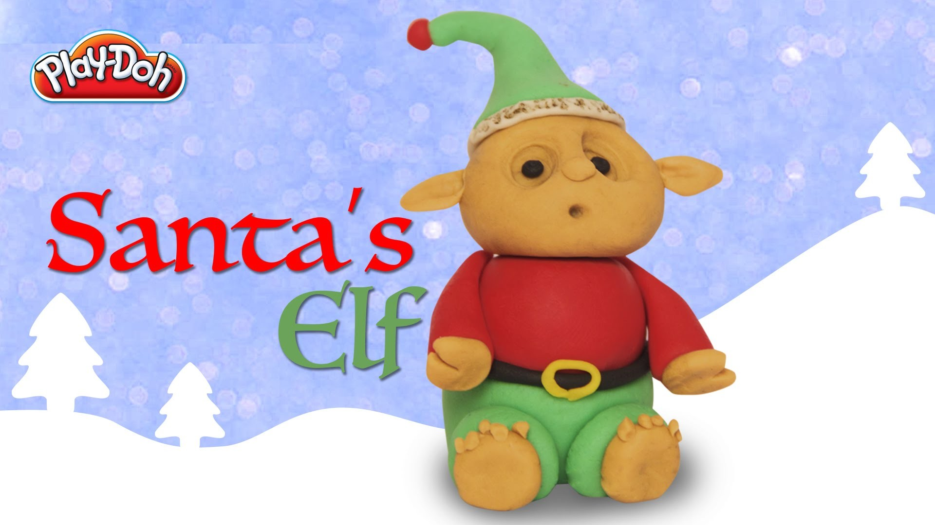 Play Doh Santa's Elf | Elf | Christmas Special | How To Make Play Doh Santa's Elf