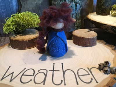 Rainy Weather Finger Puppet | How to Make Weather Gnomes