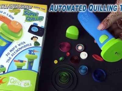 Unboxing Automated Paper Quilling Tool and How to use | JK Arts 860
