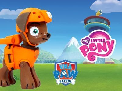 Zuma Paw Patrol Customized My Little Pony figure Custom How To Tutorial HD