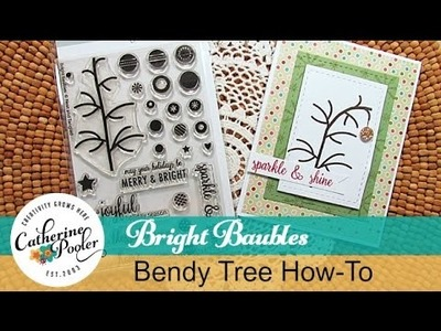 Bright Baubles Bendy Tree How-To