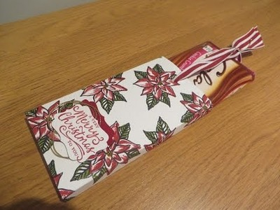 Chocolate Gift Box and How to Stamp Reason for the Season by Stampin' Up