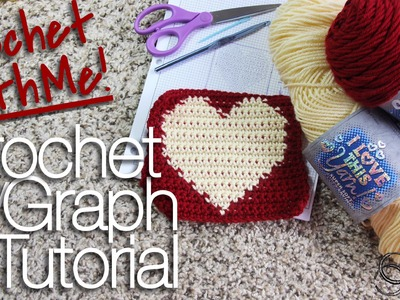 Crochet-With-Me Crochet by Graph Tutorial