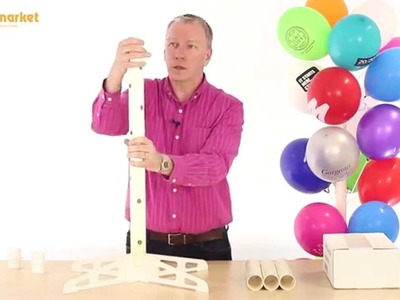 How to Assemble a Balloon Tree