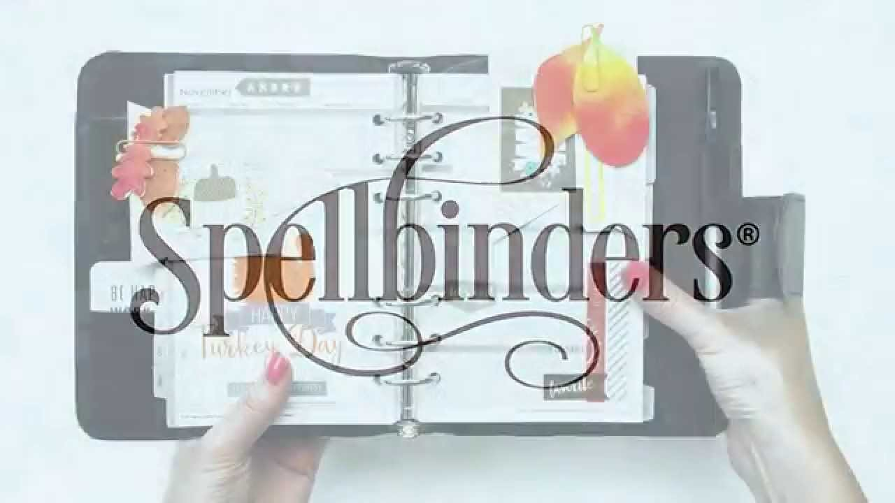 How to Create a Bookmark for Your Planner with Spellbinders Dies