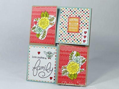How to Create a Quarter Fold Card