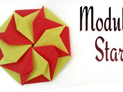 """How to do a Easy Paper """"Modular Agni Star"""