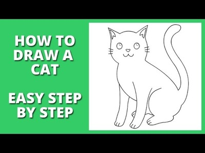 How to draw a cat step by step for beginners