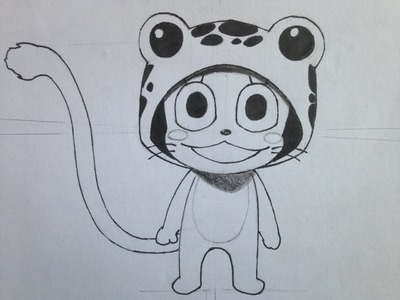 How to draw Frosch