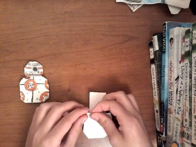 How to fold Origami BB-8!