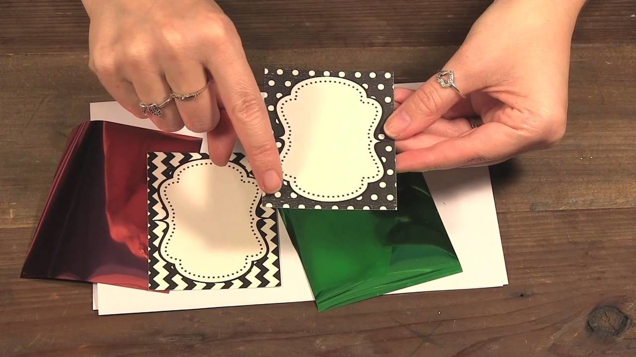 How to Hot Foil with Theroweb Deco Foil